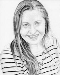 Elizabeth | Melissa Helene Fine Arts & Photography 8x10 graphite portrait www.melissahelene.com #graphitedrawing #graphiteportrait #portrait