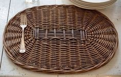 """Willow Placemat Set - The natural table is where it's at for us.Totally inviting. Totally classy. Totally beautiful. Totally farmhouse.Sold as a set of 4. Woven Willow. 18"""" x 13"""" x 1""""This item will ship to you in approximately 4-6 weeks. We will accept you payment today and pre-order a set on your behalf."""