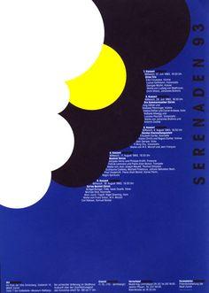 Serenaden 93 by Rosemarie Tissi (1993) | Shop original vintage posters online: www.internationalposter.com