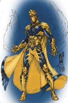 Dr. Fate Colored by Brent Booth