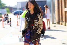 Zara jacket, 3.1 Phillip Lim top.