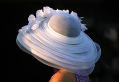 """I just can't resist pinning some of these beautiful hats.if only they were less expensive and more popular to wear """"sigh"""" Kentucky Derby Hats Kentucky Derby Fashion, Kentucky Derby Hats, Louisville Kentucky, Fancy Hats, Cool Hats, Dedicated Follower Of Fashion, Derby Day, Derby Time, Church Hats"""