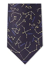 Constellations necktie