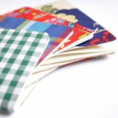 Fabric Covered Notebooks | AllFreeKidsCrafts.com