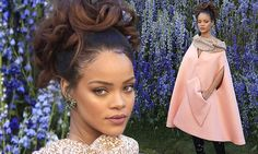 Rihanna leads arrivals to star-studded Dior show at Paris Fashion Week