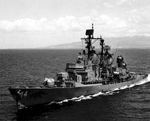 Sticker Military USN U S Navy USS DEWEY DDG 45 DLG 14 Oval Decal