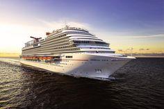 Das 25. Schiff der Flotte: Ab dem 1. Mai geht die Carnival Vista auf…