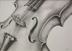 """11x14  Graphite Smooth Tone Still Life: drawing. """"Stringed Melody"""""""