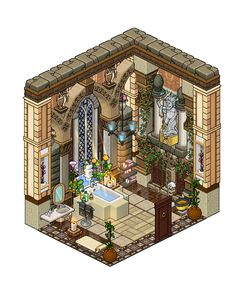 Mansion - Bathroom 2 by Cutiezor.deviantart.com on @DeviantArt
