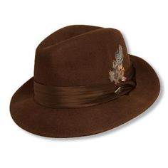 Check out the Crushable Wool Fedora by Stacy Adams - for true men of style and distinction. www.stacyadams.com