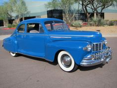 1946 Lincoln V-12 Club Coupe - Beautifully Restored - Very Rare - WOW!!