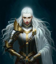 f Paladin Plate Armor Cloak Longsword hilvl underdark undercity urban City Temple Red Fox by Yi Zhang med Dnd Characters, Fantasy Characters, Female Characters, Character Creation, Character Concept, Character Art, Female Armor, Female Knight, Aasimar Paladin Female