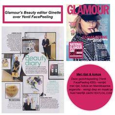 Yentl Oil   Yentl FacePelling   GLAMOUR Magazine   Dutch Only   Musthave   WWW.YENTLOIL.COM   #YentlOil #ArganOil #Cosmetics #Yentl #SkinCare