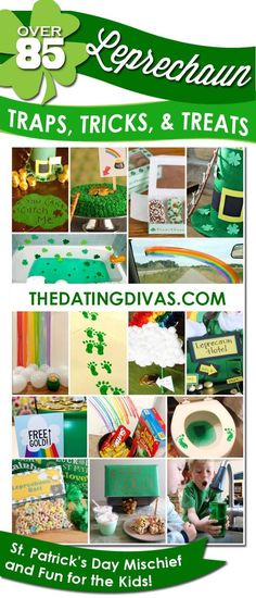 Hilarious and adorable leprechaun trap and mischief ideas- fun new tradition for St. Patty's Day! www.TheDatingDiva...