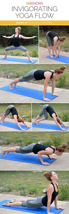 20 Minutes could change your whole day -- see the whole #yoga workout on SheKnows