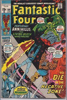 Fantastic Four #109 Marvel Comics