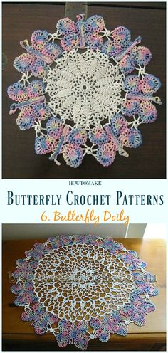 Butterfly Doily Free Crochet Pattern - Free Patterns Free Butterfly Crochet Patterns & Projects for Kids and Bedding: Butterfly BROOCH; Butterfly Blanket, Butterfly Costume, Doily and Crochet Edging Patterns Free, Crochet Butterfly Free Pattern, Crochet Motif, Filet Crochet, Crochet Dreamcatcher Pattern Free, Crochet Edgings, Loom Patterns, Tatting Patterns, Crochet Shawl