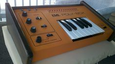 MATRIXSYNTH: Rare Orange One Octave EML Polybox Keyboard
