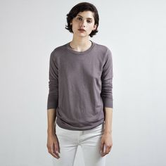 The Women's French Terry Mauve
