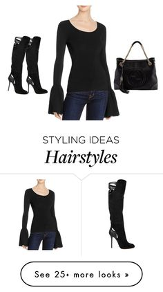 """""""Untitled #623"""" by diaval on Polyvore featuring Elizabeth and James, Sergio Rossi and Gucci"""