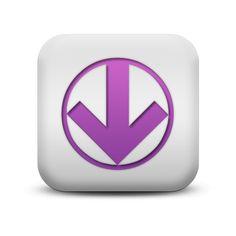 Circled Down Arrow Icon #120682 » Icons Etc