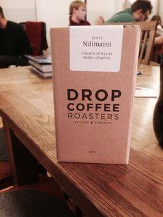 Dropcoffee Stockholm coffee beans packaging