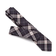 I really like this tie.    Everlane - Flannel Plaid Tie $35