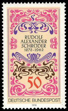 Stamp West Germany 1978