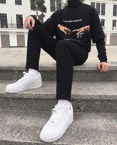 Discover Our Streetwear Chest Bag⬇️ streetwear highsnobiety fashion street styles urban aesthetic outfits men women sneakers hypebeast Edgy Outfits, Retro Outfits, Grunge Outfits, Vintage Outfits, Cool Outfits, Fashion Outfits, Trendy Outfits For Guys, Fashion Styles, Fashion Boots