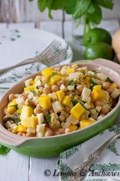 Mango Jicama & Corn Salad | http://lemonsandanchovies.com