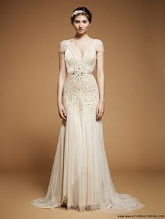 wedding dresses antique style | ... 2012 Vintage Glamour Bridal Gowns | Wedding Dress | Bridal hairstyles