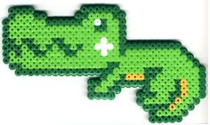 Gator perler bead pattern wani01.jpg (400×239)