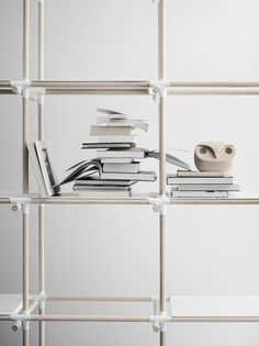 #product design #styling #bookshelving #books #display #modern #simple #minimalism #home decor - Photo by Mikkel Rahr Mortensen for Menu