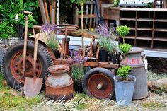 LOVE ALL THE RUST...I COULD SEE THIS IN MY YARD FOR CHARACTER