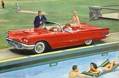 1958 Ford Thunderbird.