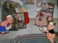 Silly Symphony - The Big Bad Wolf - 1934