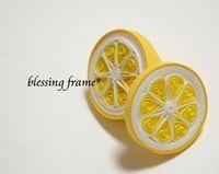 quilled lemons