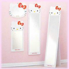 19 Cute & Charming Hello Kitty Bedroom Decoration - Home Decor Ideas Hello Kitty Zimmer, Hello Kitty Haus, Hello Kitty Bedroom, Cat Bedroom, Hello Kitty Room Decor, Bedroom Ideas, Bedroom Decor, Baby Bedroom Furniture, Hello Kitty Collection