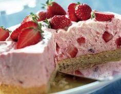 Mały #tort z #truskawkami i #mascarpone