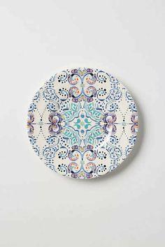 Anthropologie - Swirled Symmetry Salad Plate on Wanelo