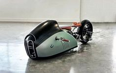 """BMW Speed Racing Motorcycle """"Alpha"""" by Mark Atkinson #custommotorcycles #motoscustom   caferacerpasion.com"""