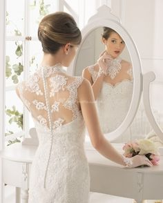 Aire Barcelona: Wedding dresses and evening gowns Aire Barcelona Wedding Dresses, 2015 Wedding Dresses, Designer Wedding Dresses, Bridal Dresses, Wedding Gowns, Lace Wedding, Gorgeous Wedding Dress, Bridal Boutique, Bridal Collection