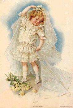The little bride...
