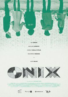 Onix. Onyx. Afiche alternativo. Cine Argentino.
