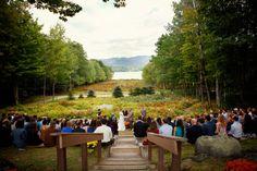 Outdoors Rustic Wedding