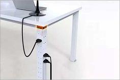 Pasacables para escritorio