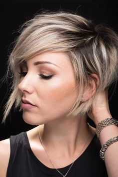 Cute easy hairstyles for short hair are exactly what you need if you prefer wearing your hair short. Check out the loveliest hairstyles. *** Click image to read more details. #easyhairstyles