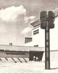 Tallinna Polutehnilise Instituudi peakorpus (1968, U. Tolpus, H. Sepmann, O. Kontsajeva) Mustamael.
