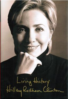 Reading Room Bookshop : Living History by Hillary Rodham Clinton (2003) Hardcover