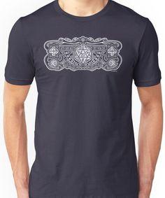 Dice Deco D20 for Dark Items! Unisex T-Shirt